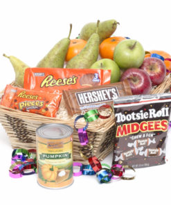 Thanksgiving Fruit Candy Basket